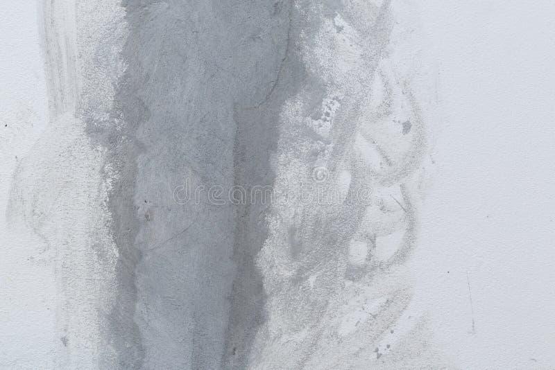 Repare a parede do almofariz do cimento foto de stock
