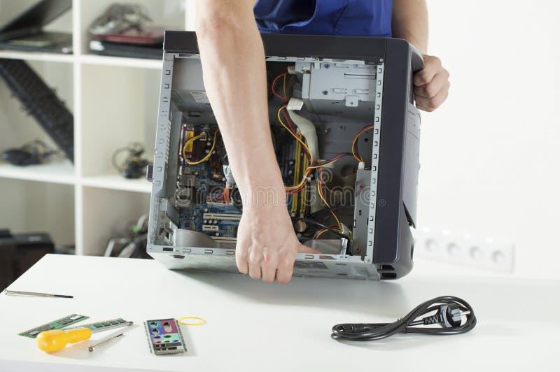 reparera för dator royaltyfri foto