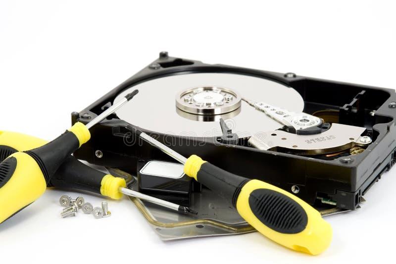 reparera för maskinvara royaltyfri foto