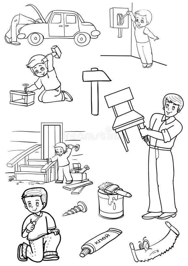 Reparo ilustração do vetor