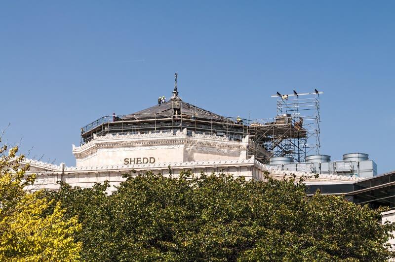 Reparo do aquário de Shedd imagens de stock royalty free