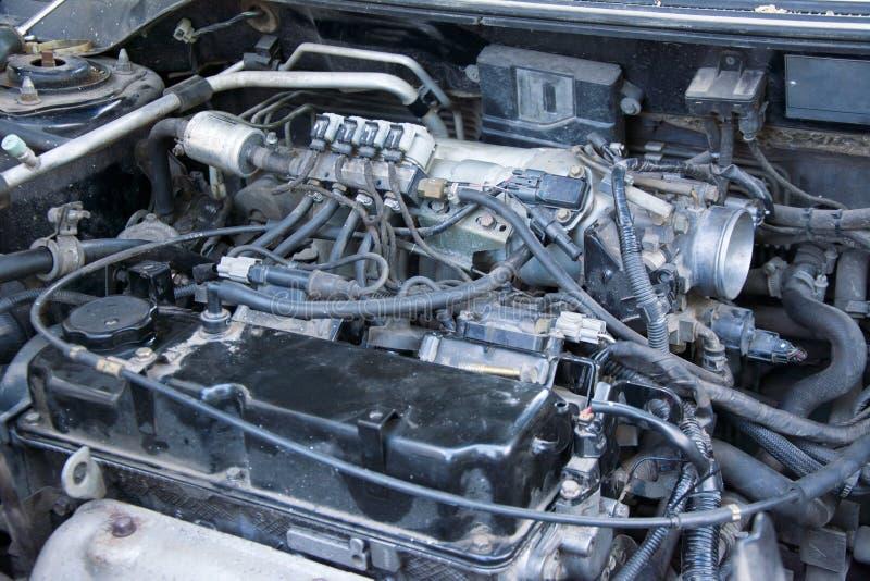Reparo do motor de autom?veis imagem de stock royalty free