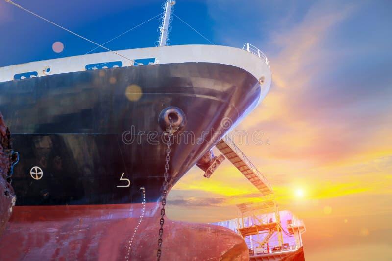 Reparo do navio fotografia de stock