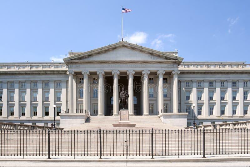 Reparto degli Stati Uniti del Ministero del Tesoro fotografie stock libere da diritti