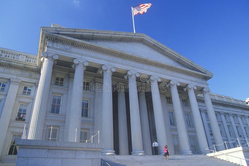 Reparto degli Stati Uniti del Ministero del Tesoro immagine stock libera da diritti