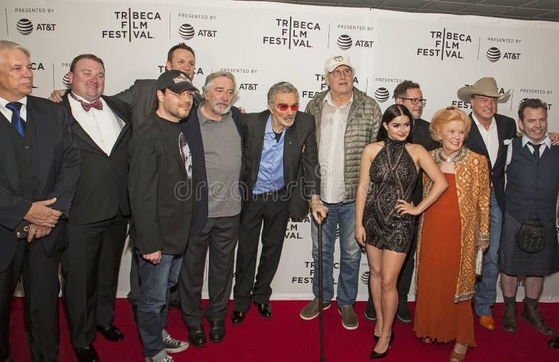 Reparto y equipo del frunce del ` de los años del perro del ` en el festival de cine 2017 de Tribeca imágenes de archivo libres de regalías