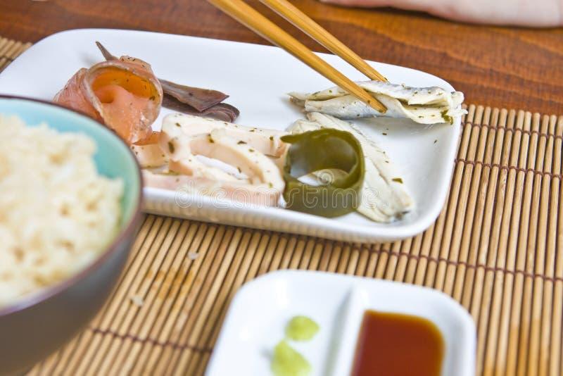 Repas asiatique images libres de droits