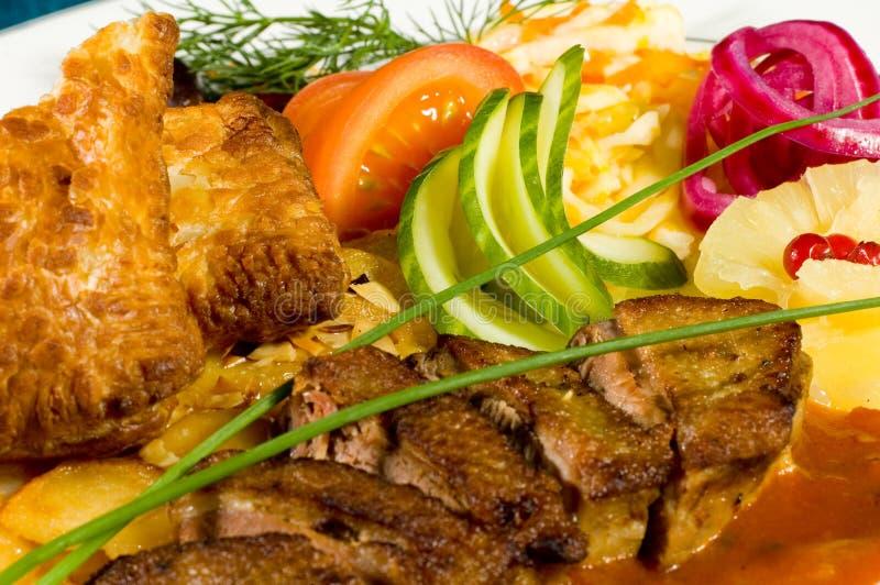 Repas délicieux ! - 6 photographie stock libre de droits