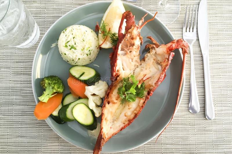 Repas de homard images stock
