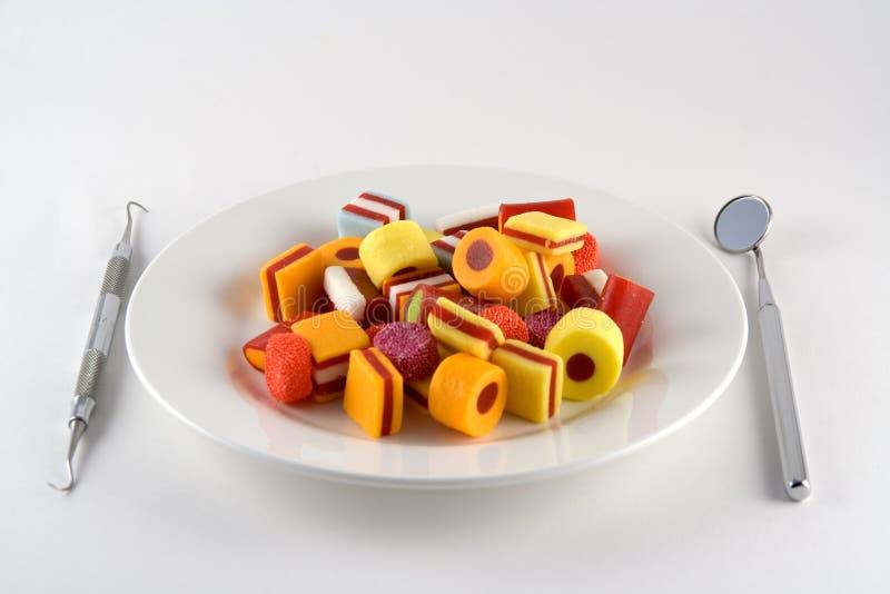 Repas de sucrerie photographie stock