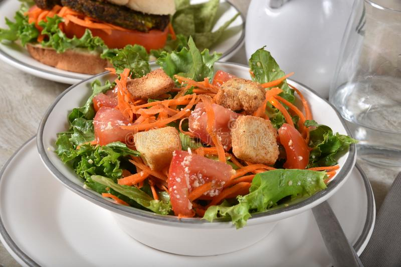 Repas de Vegan photo stock