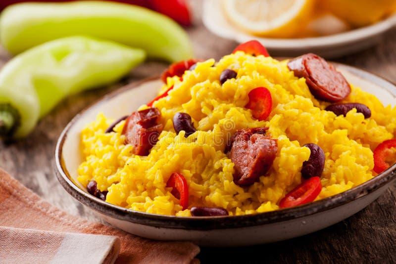 Repas mexicain fait maison images stock