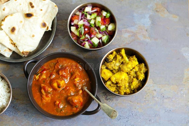 Repas partageant indien images stock