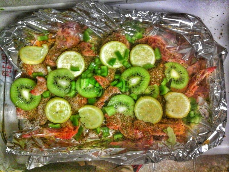 Repas sain de veggies de dîner cuit au four photo libre de droits