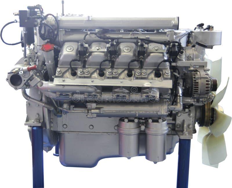 Repassez la construction pour l'industrie mécanique de la fabrication moderne de moteurs images libres de droits