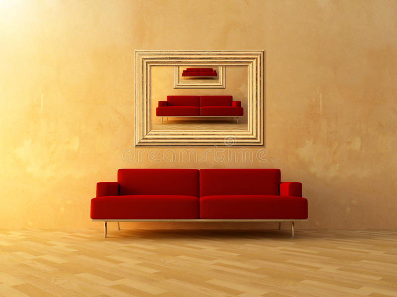 Download Repeat in frame stock illustration. Illustration of home - 17776718