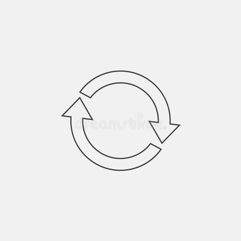 repeat icon vector illustration
