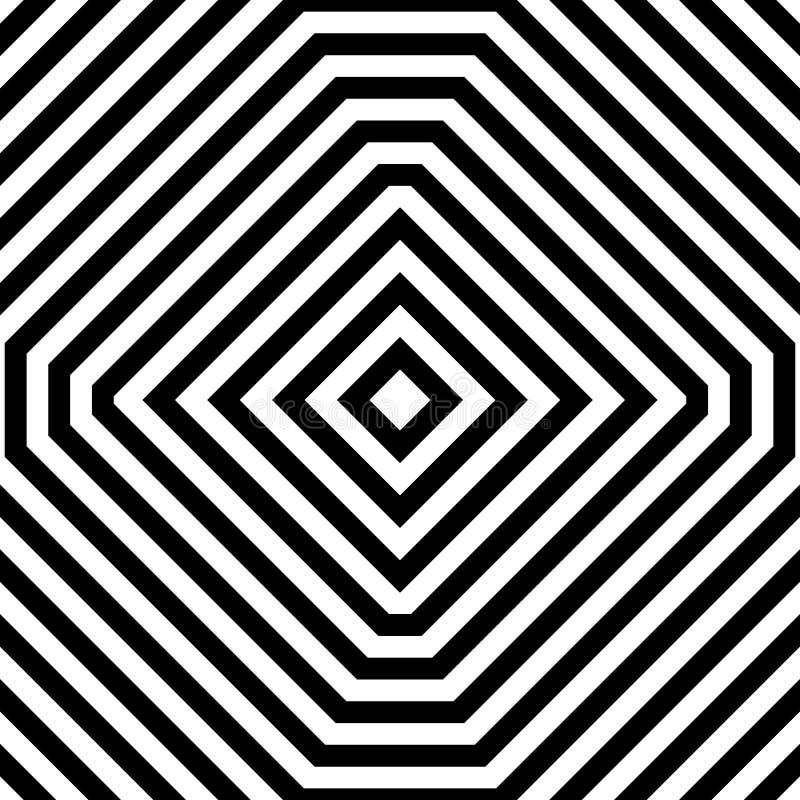 Download Repeatable геометрическая картина Абстрактное Monochrome угловое Backgr Иллюстрация вектора - иллюстрации насчитывающей eyestrain, бесцветно: 81804856