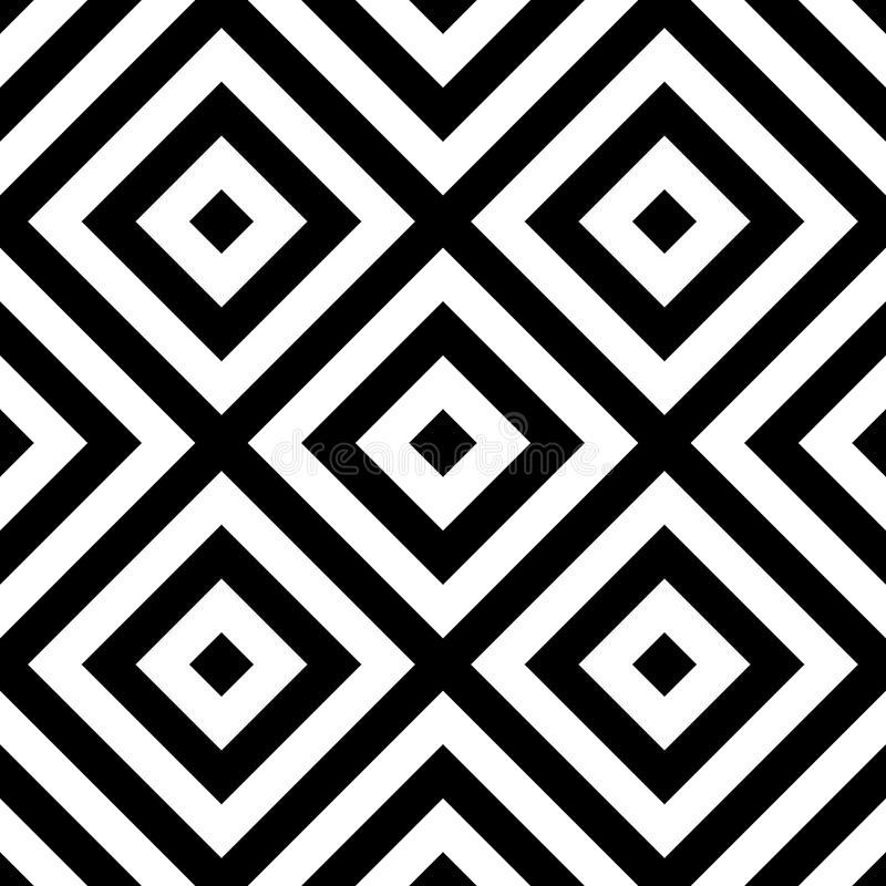Download Repeatable геометрическая картина Абстрактное Monochrome угловое Backgr Иллюстрация вектора - иллюстрации насчитывающей черный, monochrome: 81804897