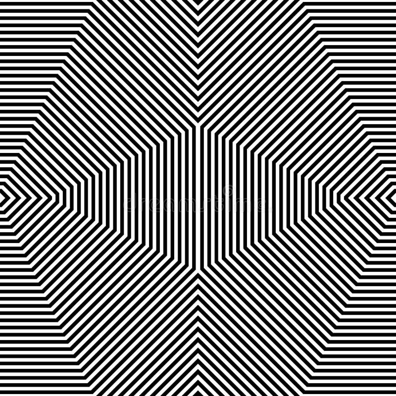 Download Repeatable геометрическая картина Абстрактное Monochrome угловое Backgr Иллюстрация вектора - иллюстрации насчитывающей картина, нервно: 81805125