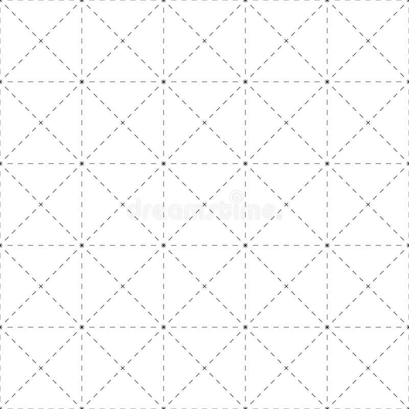 Download Repeatable детальная решетка, картина сетки Черно-белая версия Иллюстрация вектора - иллюстрации насчитывающей самомоднейше, периодическо: 81803456