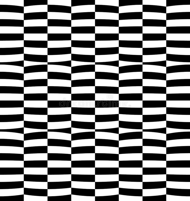 Download Repeatable передернутая картина с прямоугольниками, черно-белое Te Иллюстрация вектора - иллюстрации насчитывающей передернуто, конспектов: 81810145