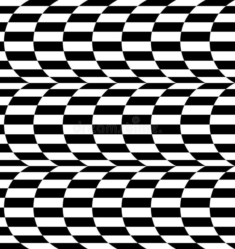 Download Repeatable передернутая картина с прямоугольниками, черно-белое Te Иллюстрация вектора - иллюстрации насчитывающей погиб, конспектов: 81810146