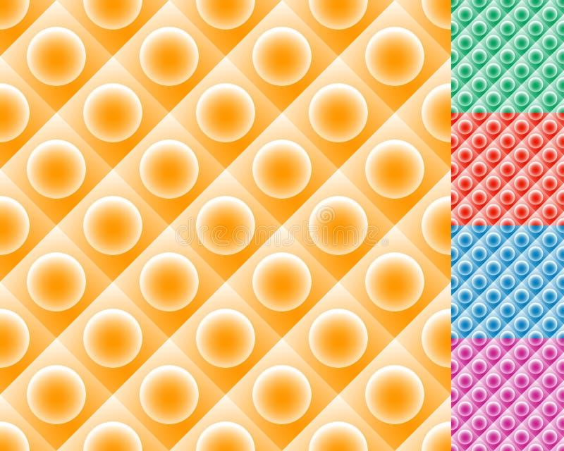 Download Repeatable плитки картины с кругом над квадратом Иллюстрация вектора - иллюстрации насчитывающей lego, украшение: 81801047