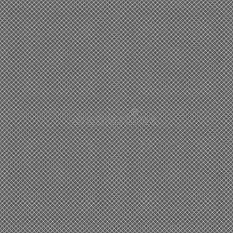 Download Repeatable решетка, сетка с тонкими серыми линиями Иллюстрация вектора - иллюстрации насчитывающей контраст, график: 81804319