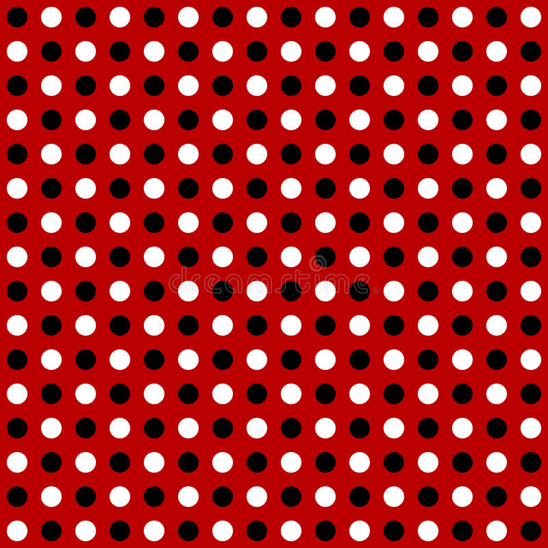 Repeatable circles, dots pattern. Colorful / multicolor texture stock illustration