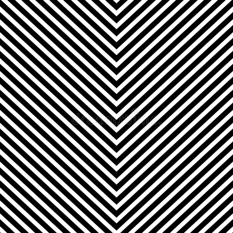 Repeatable geometric pattern with slanting, oblique lines stock illustration