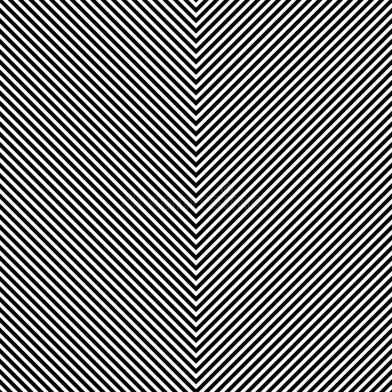 Repeatable geometrisk textur Passande sömlös minimalist monokrom stock illustrationer