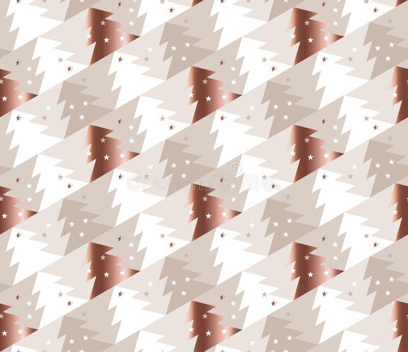 repeatable motiv för festligt inpackningspapper vektor illustrationer