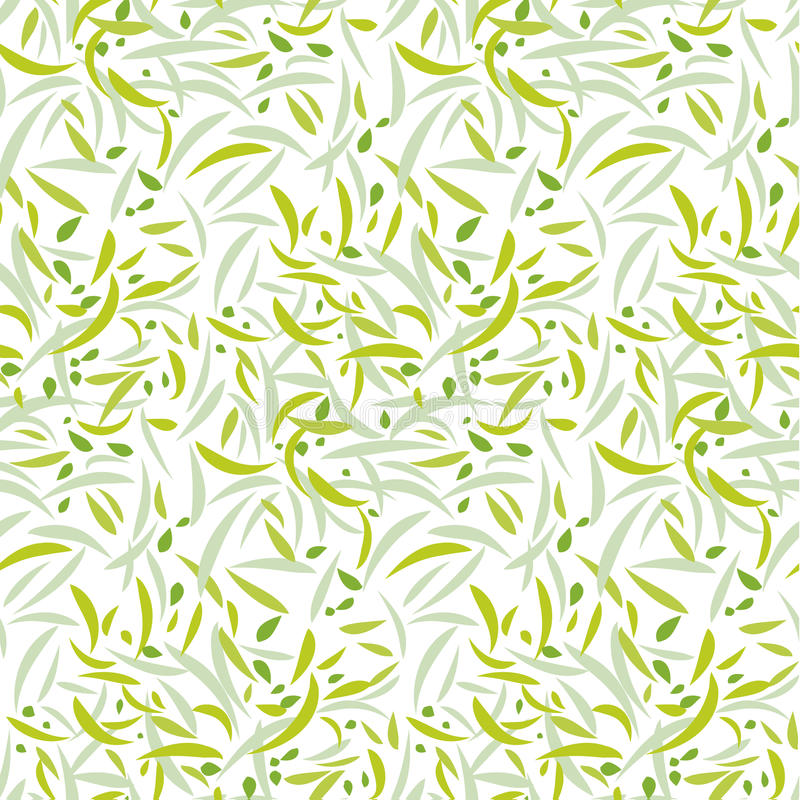 Repeatable motiv för mjukt blom- kronblad vektor illustrationer
