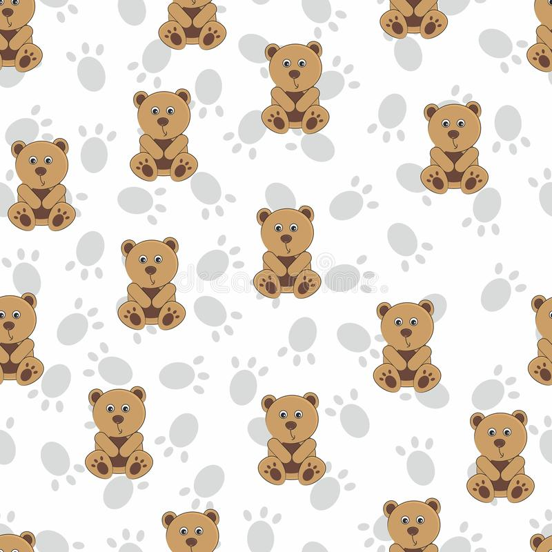 Repeatable pattern for children. Seamless wallpaper in a bowl. stock photography