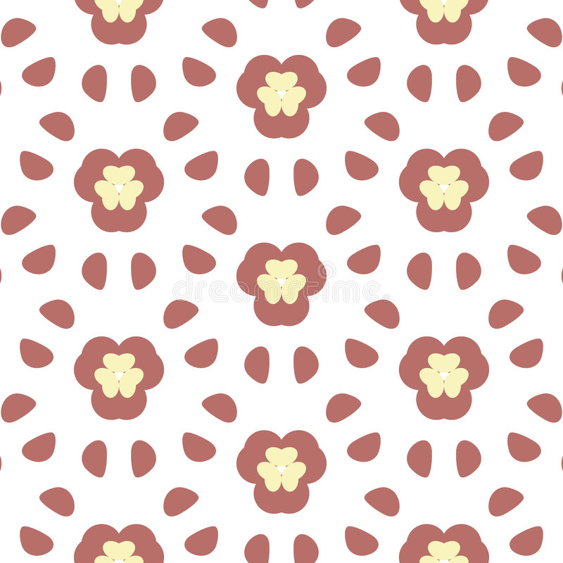 Free Repeated Flower Background Stock Photos - 680263