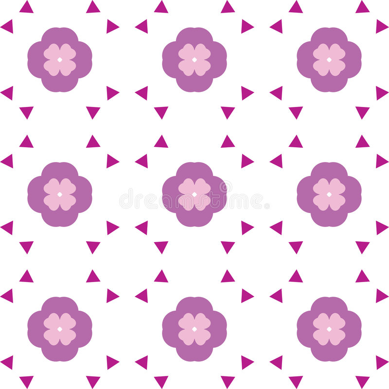 Free Repeated Flower Background Stock Images - 680294