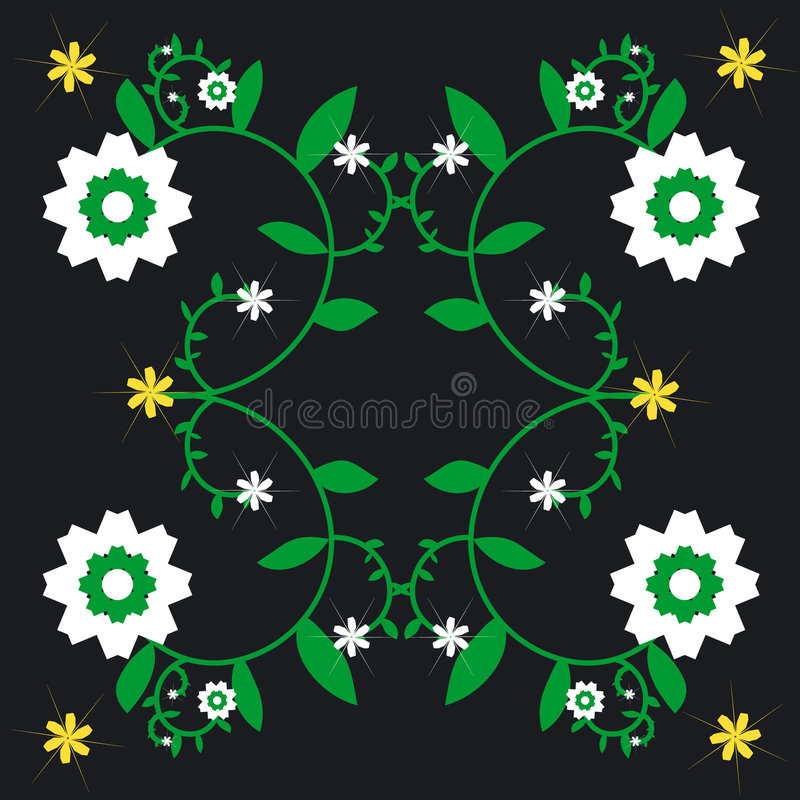 Free Repeated Flower Background Stock Images - 680364