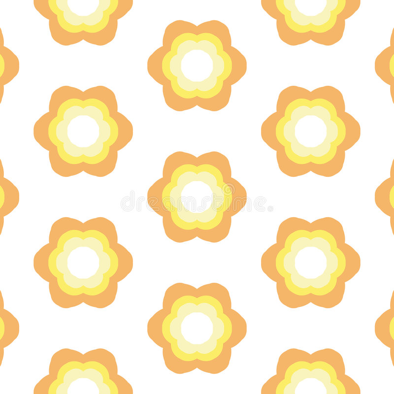 Free Repeated Flower Background Royalty Free Stock Photo - 680375