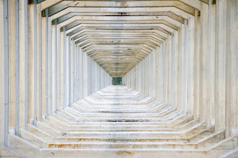 Repeating beams royalty free stock photography