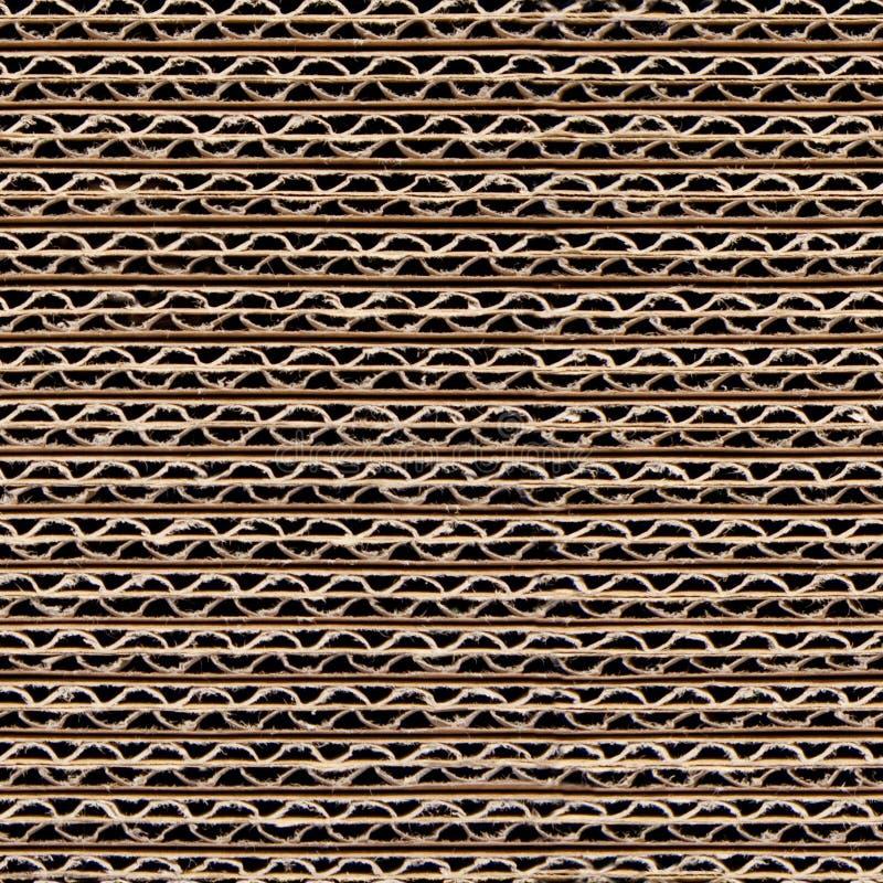 Repeating Cardboard Wallpaper stock photo