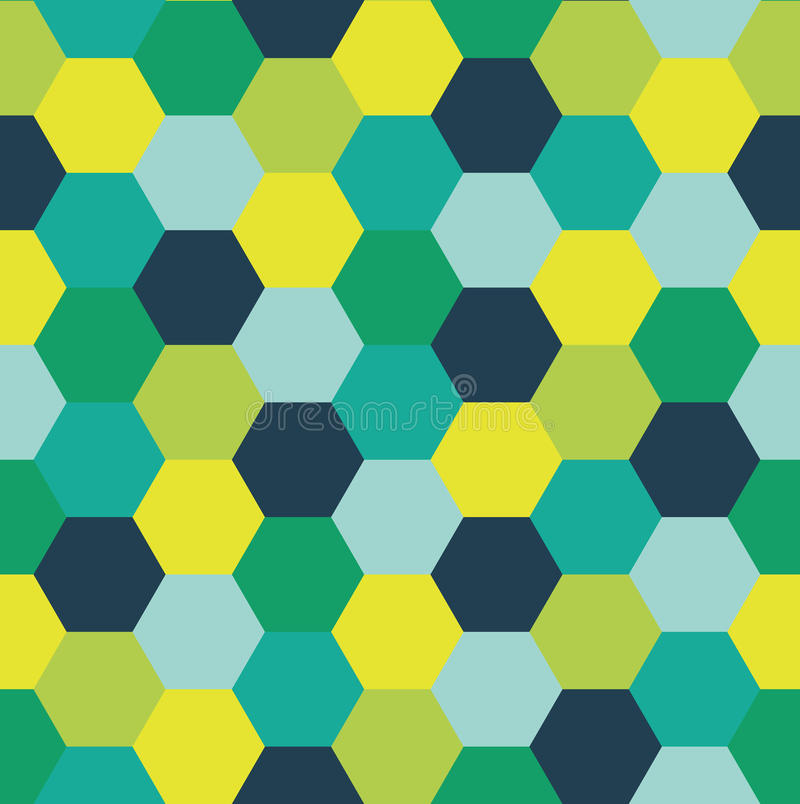 Download Repeating Pattern Of Abstract Colorful Hexagon Vector Background Stock Vector - Illustration of hexagonal, backdrop: 74498520
