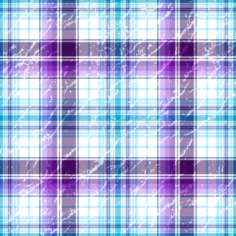 Download Repeating Violet-white Grunge Checkered Pattern Stock Vector - Illustration: 17406798