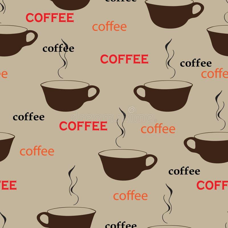 Repetición del café libre illustration