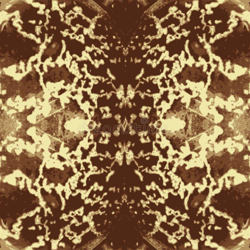 Repetición inconsútil estilizada de la textura del modelo de la piel de serpiente inconsútil en vector Impresión de moda, fondo e ilustración del vector