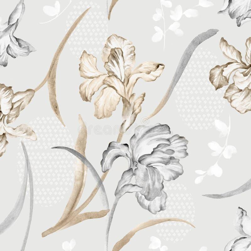 Repetición viva floral libre illustration