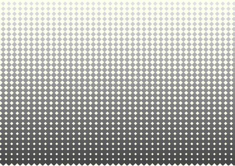 Repetindo o teste padrão de intervalo mínimo quadrado abstrato cinzento e branco projete ilustração royalty free