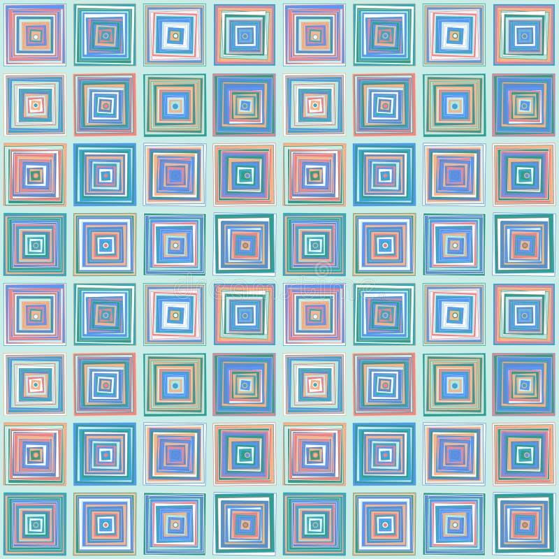 Repetindo quadrados do teste padrão fotos de stock
