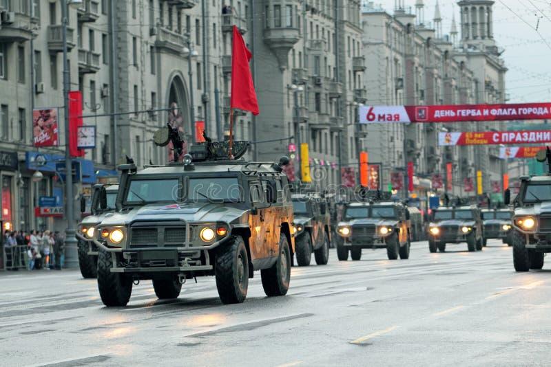 Repetitie van parade van een overwinning royalty-vrije stock fotografie