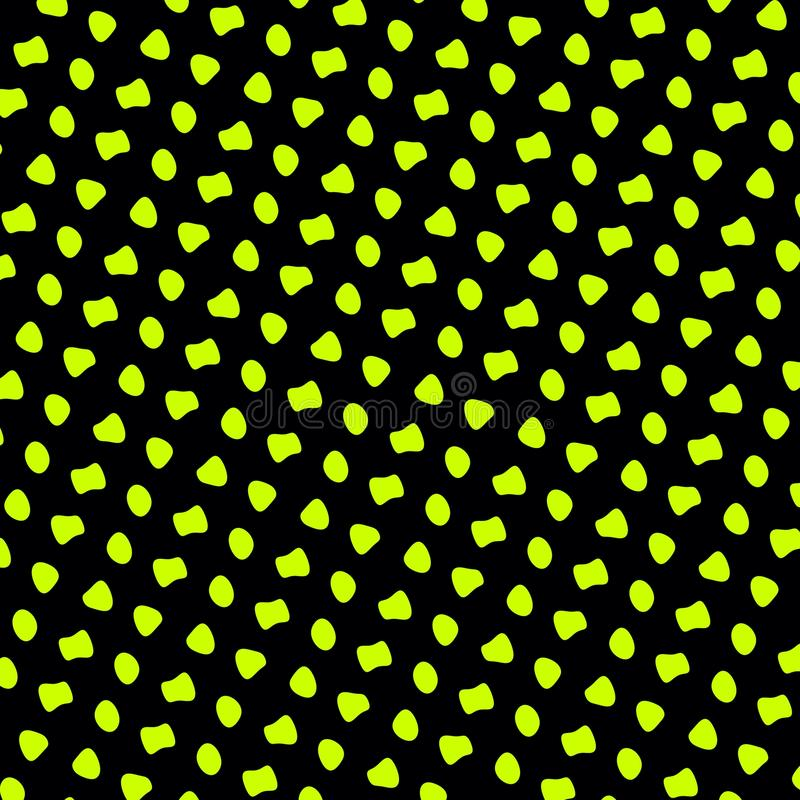 Repetitive Pattern Background - Abstract Green royalty free illustration